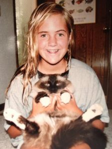 Jenny with Rags Circa 1990