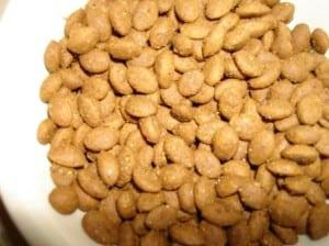 Close Up Of RedMoon Custom Dry Food