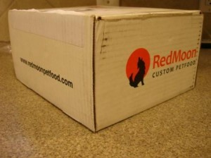 redmoonfoodarrives 300x224 RedMoon Custom Pet Food   Review Of Charlie Feast