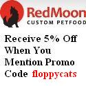 redmoonpetfoodpromo RedMoon Custom Pet Food   Review Of Charlie Feast