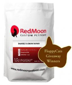 Winners Of Extra July Giveaway: Free 7lb. Bag Of RedMoon Custom Pet Food!