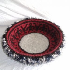 Hand Knit Peruvian Highland Wool Felted Cat Bed Cat Napper Ghengis 300x300 Interview with Kathy Bennett of WraptCats Etsy