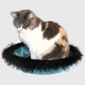 Hand Knit Peruvian Highland Wool Felted Cat Napper Cat Bed Minnaloushe 300x300 Interview with Kathy Bennett of WraptCats Etsy