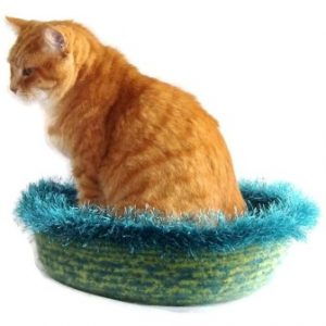 Hand Knit Peruvian Highland Wool Felted Cat Napper Cat Bed Nedjem 300x300 Interview with Kathy Bennett of WraptCats Etsy