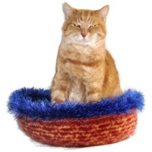 Hand Knit Peruvian Highland Wool Felted Cat Napper Cat Bed Oke 300x300 Interview with Kathy Bennett of WraptCats Etsy