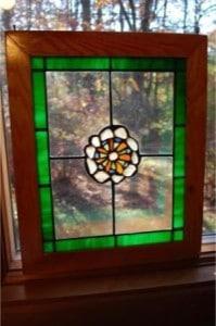 Sea Glass Pinwheel Sun Catcher $85
