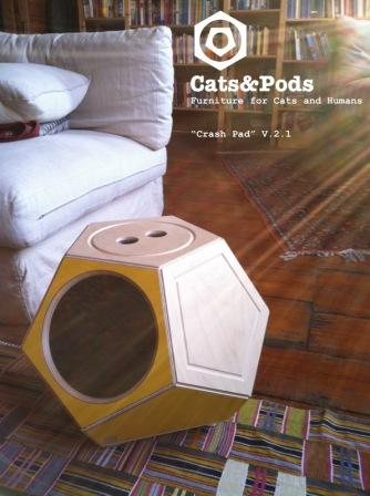 CatsPods postcard Interview with Victor Margevich of Cats&Pods Etsy Shop