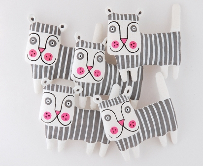 Tigers Interview with Sasha Kulakova of sashakulakova Etsy Shop