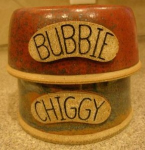 LG Potter Personalized Ceramic Pet Bowls