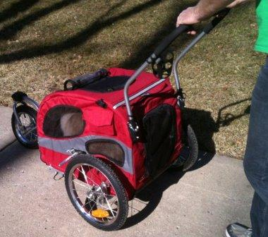 Solvit Products Houndabout Bicycle Trailer With Optional Stroller