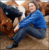 Temple Grandin. Photo: © Rosalie Winard