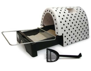Kitty a Go Go Litter Box w/pullout Drawer