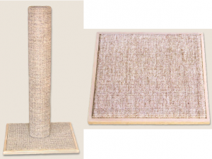 TopCat Products Sisal Base Scratching Post and Flat Scratcher