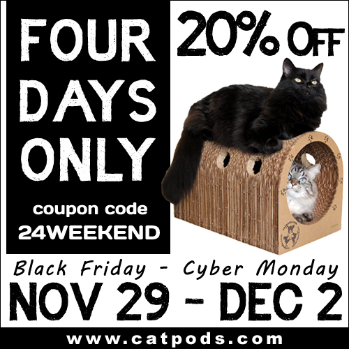 Catpods Black Friday Special