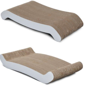 PetFusion Reversible Curve Scratcher both sides