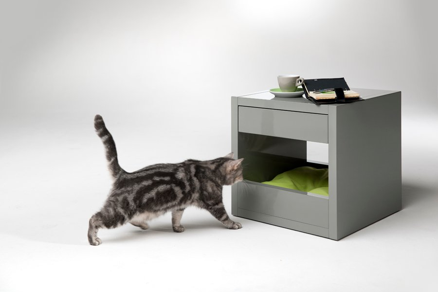 Cat Bed Side Table The Bloq By Binq Design