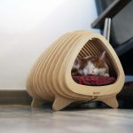 Fish Shaped Cat Bed: BBUNG-A HOUSE (뿡어집)