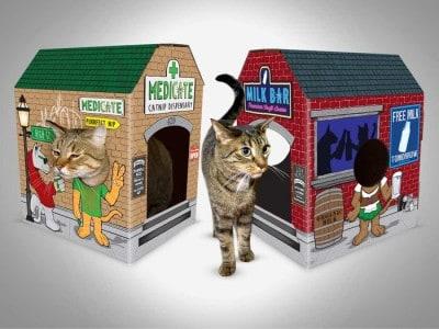 Introducing MEOWSES – Fun Cat Houses