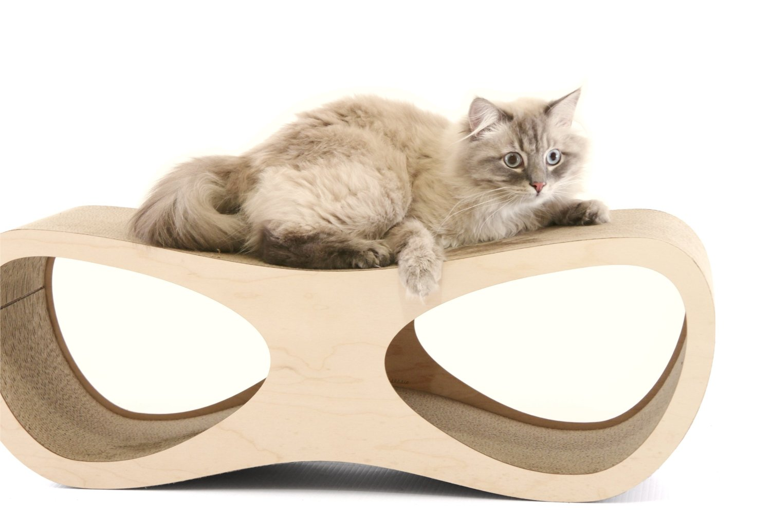 Cardboard Cat Scratcher Lounge