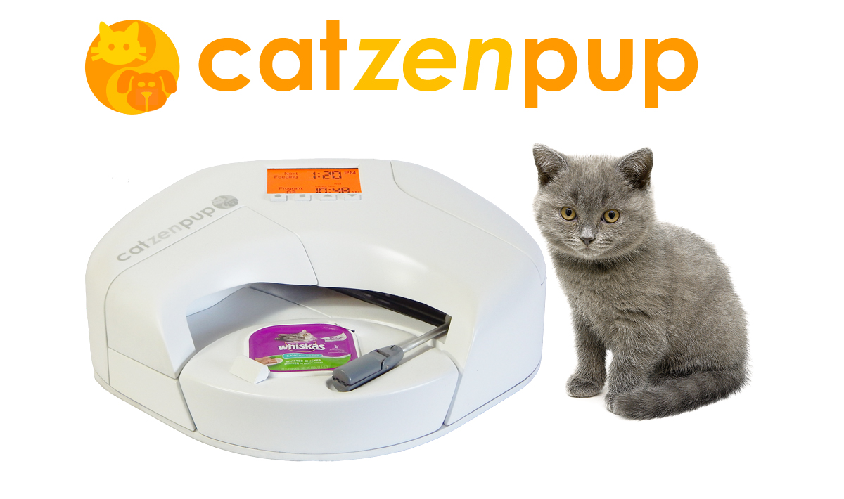 Catzenpup Automatic Wet Food Feeder Kickstarter Campaign