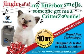 CritterZone Pet Odor Control