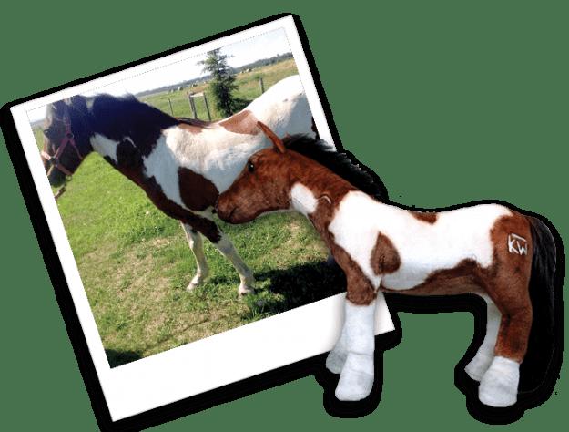 Custom Stuffed Plush Horses