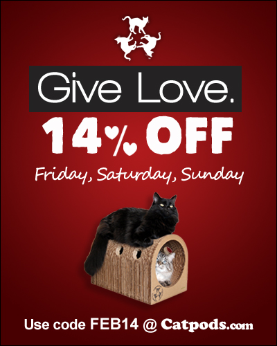 Catpods Coupon Code Valentine's Day