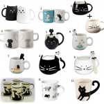 Cat Coffee Mugs – Cat Tea Cups