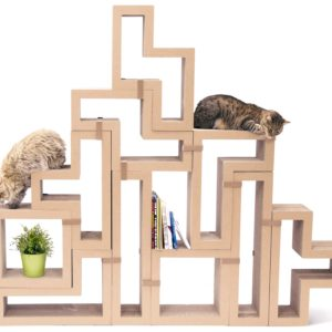KATRIS Cardboard Cat Scratcher Giveaway on Floppycats April 2015