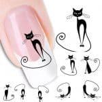 Fun Cat Nail Art