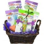BONUS GIVEAWAY!  Basket of NEW Petstages Madcap Cat Toys!