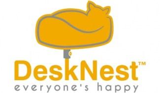 Desk Nest Logo A Unique Desktop Cat Perch