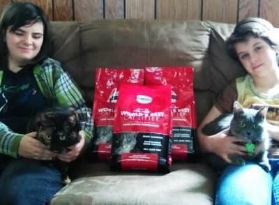 April 2015 World's Best Cat Litter™ Giveaway Winner Reports Back