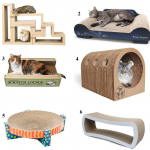 6 Unique Cardboard Cat Scratchers
