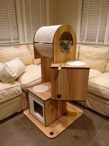 Hagen Vesper V-Tower Modern Cat Tree Furniture Product Review 2