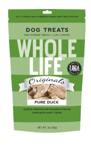 Whole Life Pet Freeze Dried Duck Treats Product Review