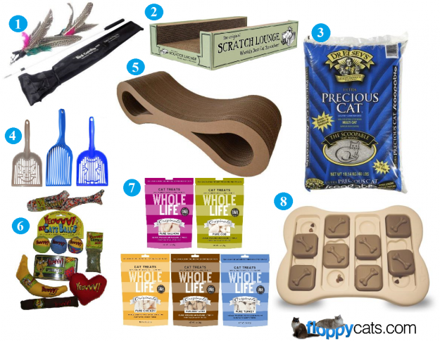 Charlies 6th Birthday Favorite Cat Products Giveaway