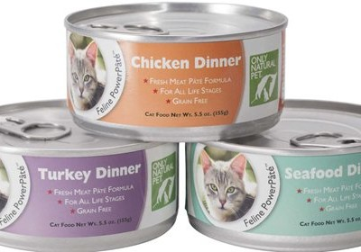 August 2015 Floppycats.com Giveaway: Only Natural Pet Brand Canned Cat Food (3 Cases)