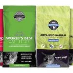 October 2015 Giveaway: 3-month Supply of World's Best Cat Litter