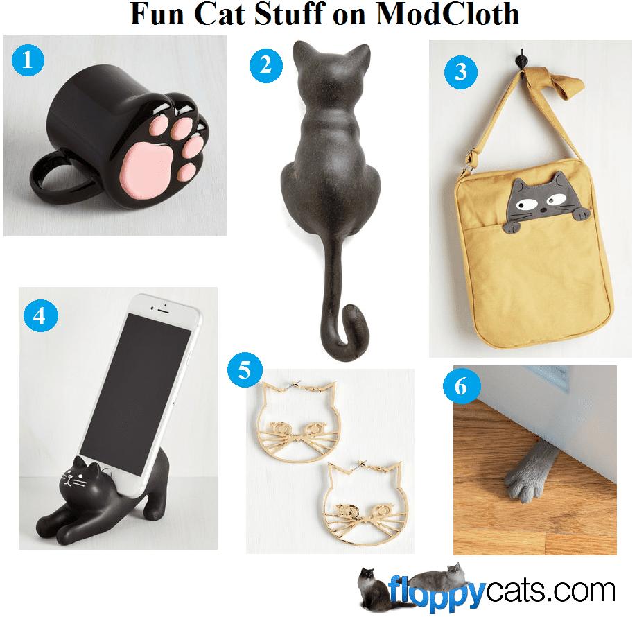 Fun Cat Stuff on ModCloth