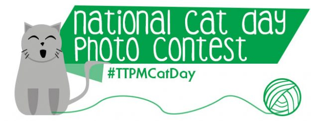 TTPM National Cat Day Paw It Forward Photo Contest