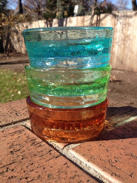 PawNosh Cubby Mini Glass Bowl Product Review Colors