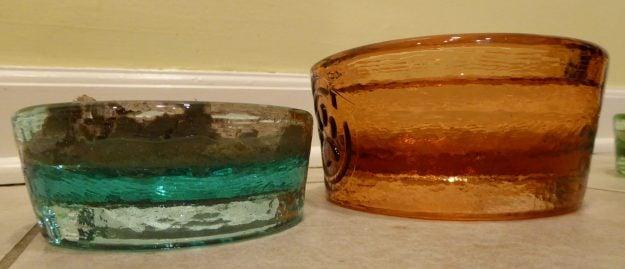 PawNosh Cubby Mini Glass Bowl Product Review Mini vs Original