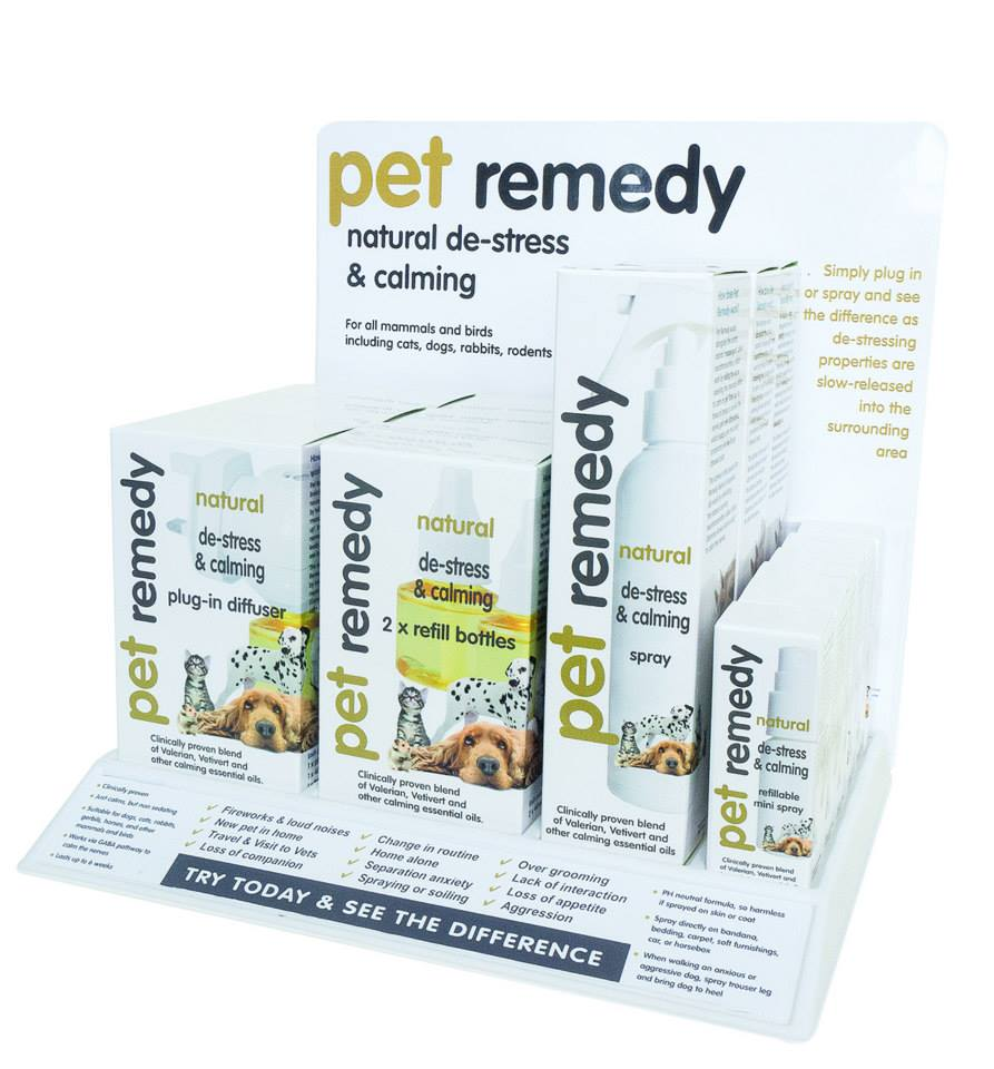 Pet Remedy A New Product to Help Calm Down Your Cat