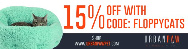 Urban Paw Coupon Code Floppycats 15 off 500x130