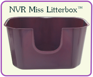 NVR Miss Litterbox - High Sided Litterbox for Cats