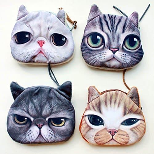 cat bag coin purse