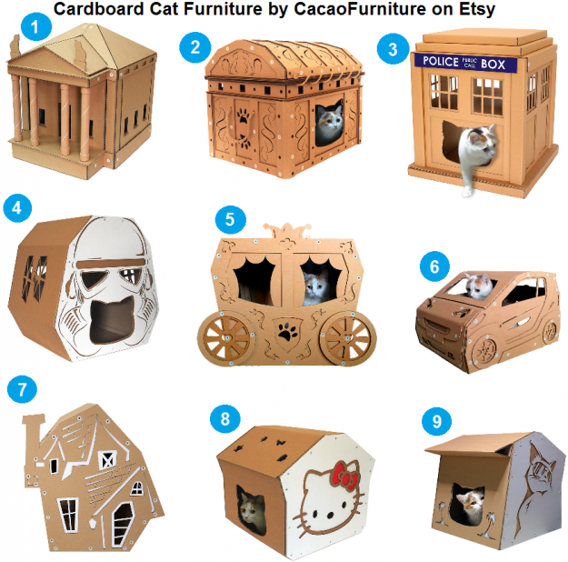 Make A Cat House Out Of Boxes
