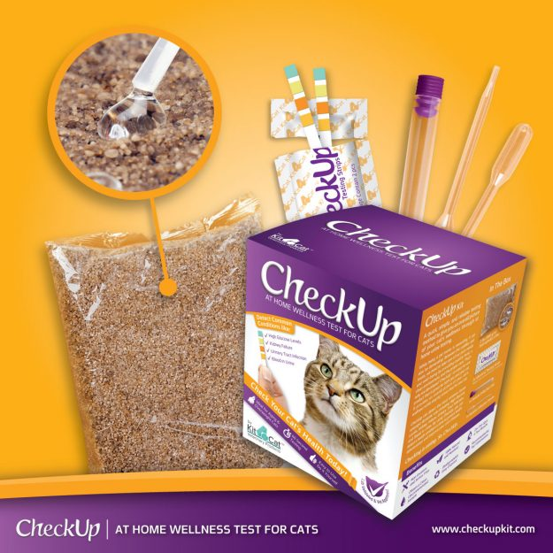 CheckUp at Home Wellness Test for Cats Floppycats Giveaway 2