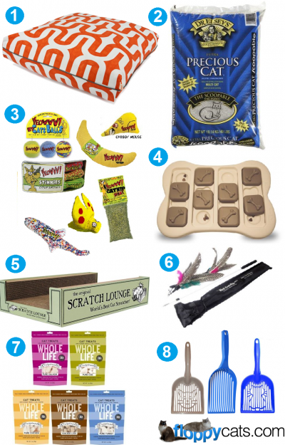 Charlies 7th Birthday Favorite Cat Products Giveaway